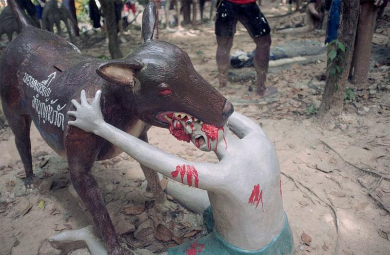 7. Thai Hell theme-park