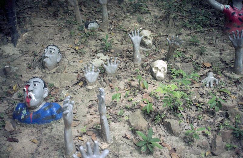 8. Thai Hell theme-park