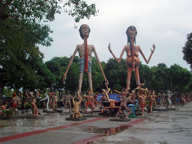 9. Thai Hell theme-park
