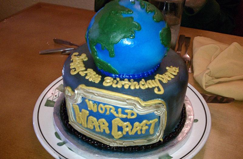 7. World of Warcraft birthday cake