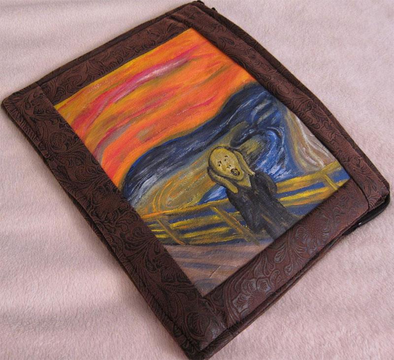 4. The Scream iPad case