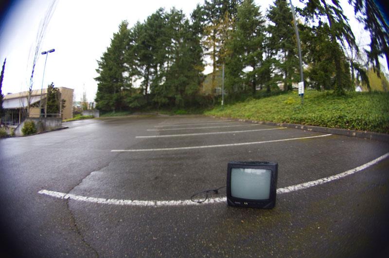 6. An old TV
