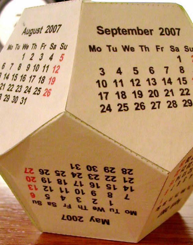 New calendars