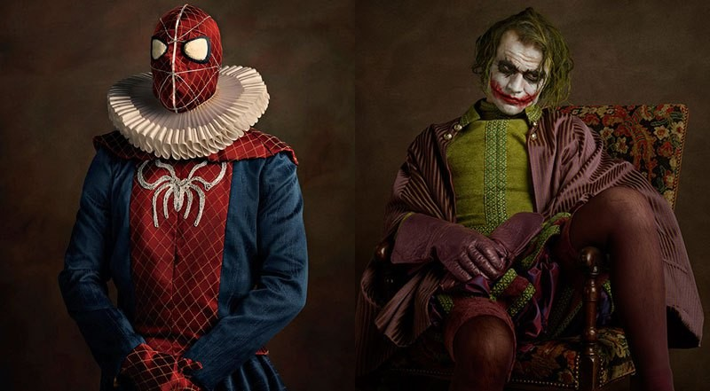 Heroes and Villains on Portraits