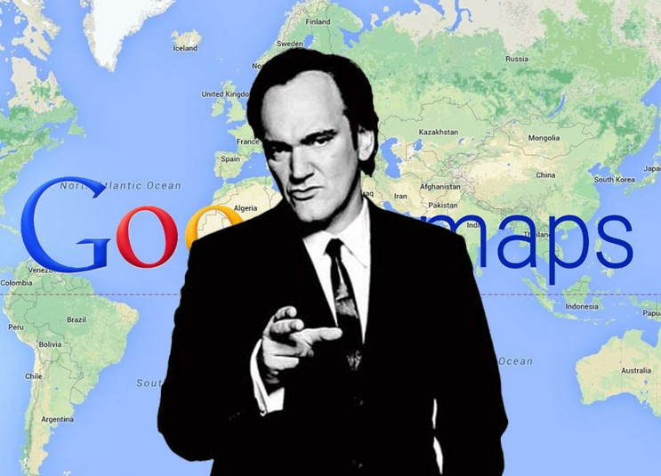 "You can walk through the ""Tarantino places"""