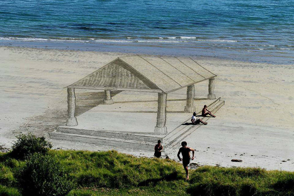Amazing 3D Beach Art