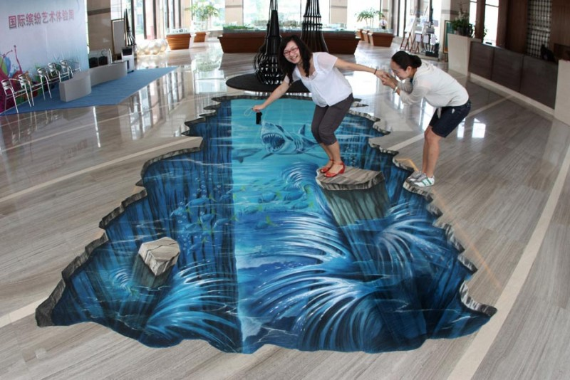3D Street Drawings. Art or not ?