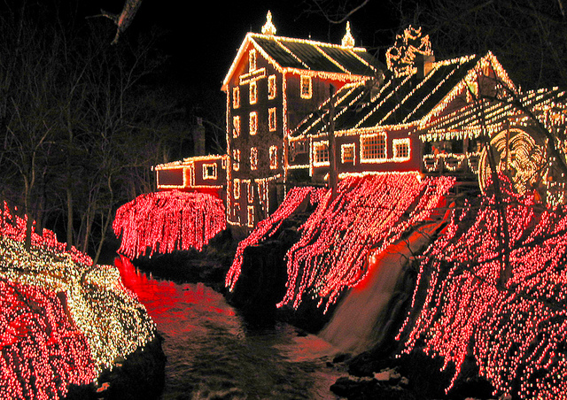 Clifton Mill In Ohio.