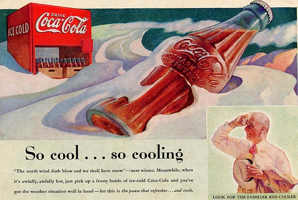 The history of Coca-Cola