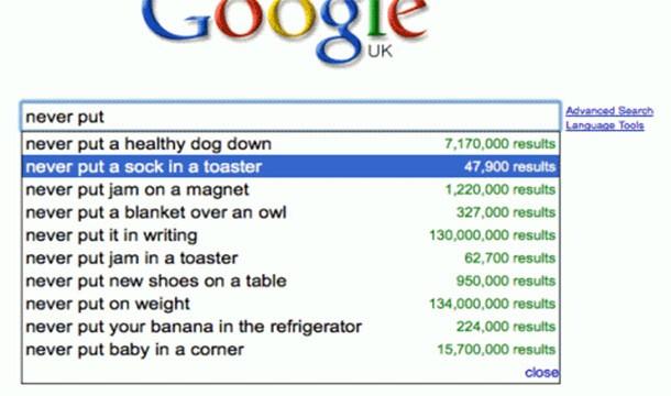 Google fails