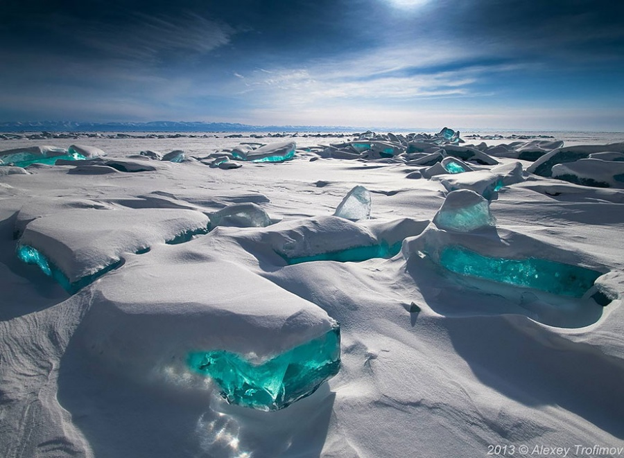 Natural masterpieces of ice