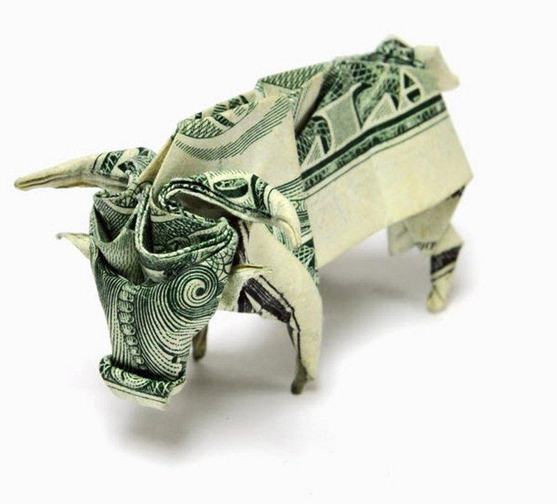 Dollar Origami