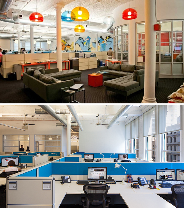 Amazing startup offices