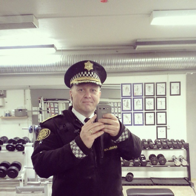 Icelandic police official instagram