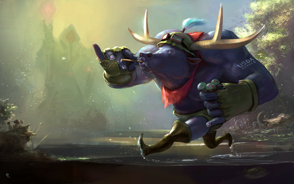 Amazing MOBA Character Fan Art