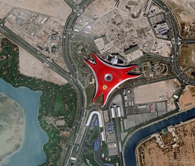 Pleiades---EAU---Abu-Dhabi---Ferrari-World