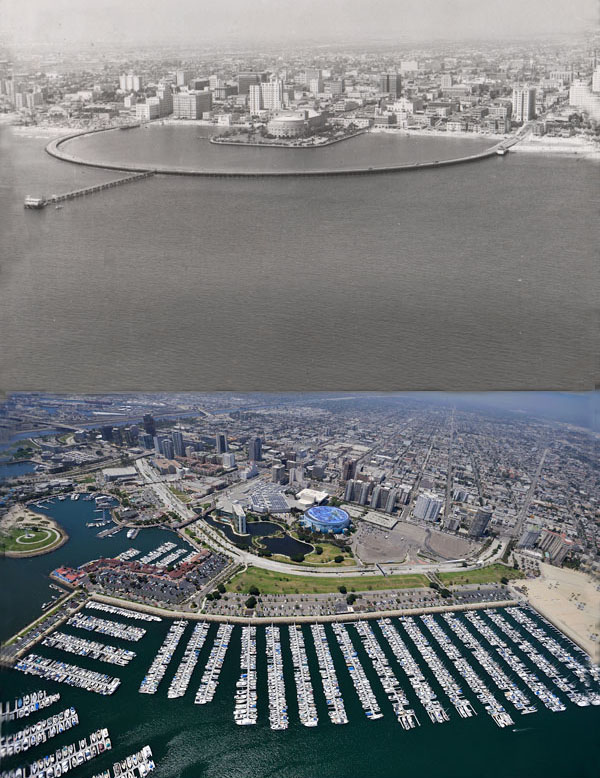 Skylines Then and Now