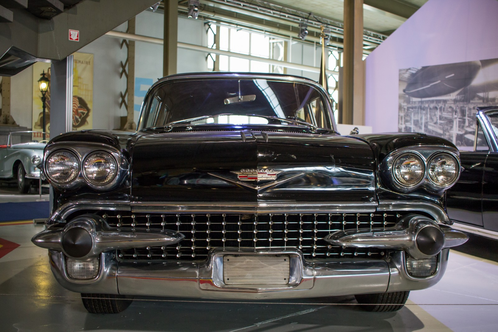 Cadillac on display in the Autoworld Brussels