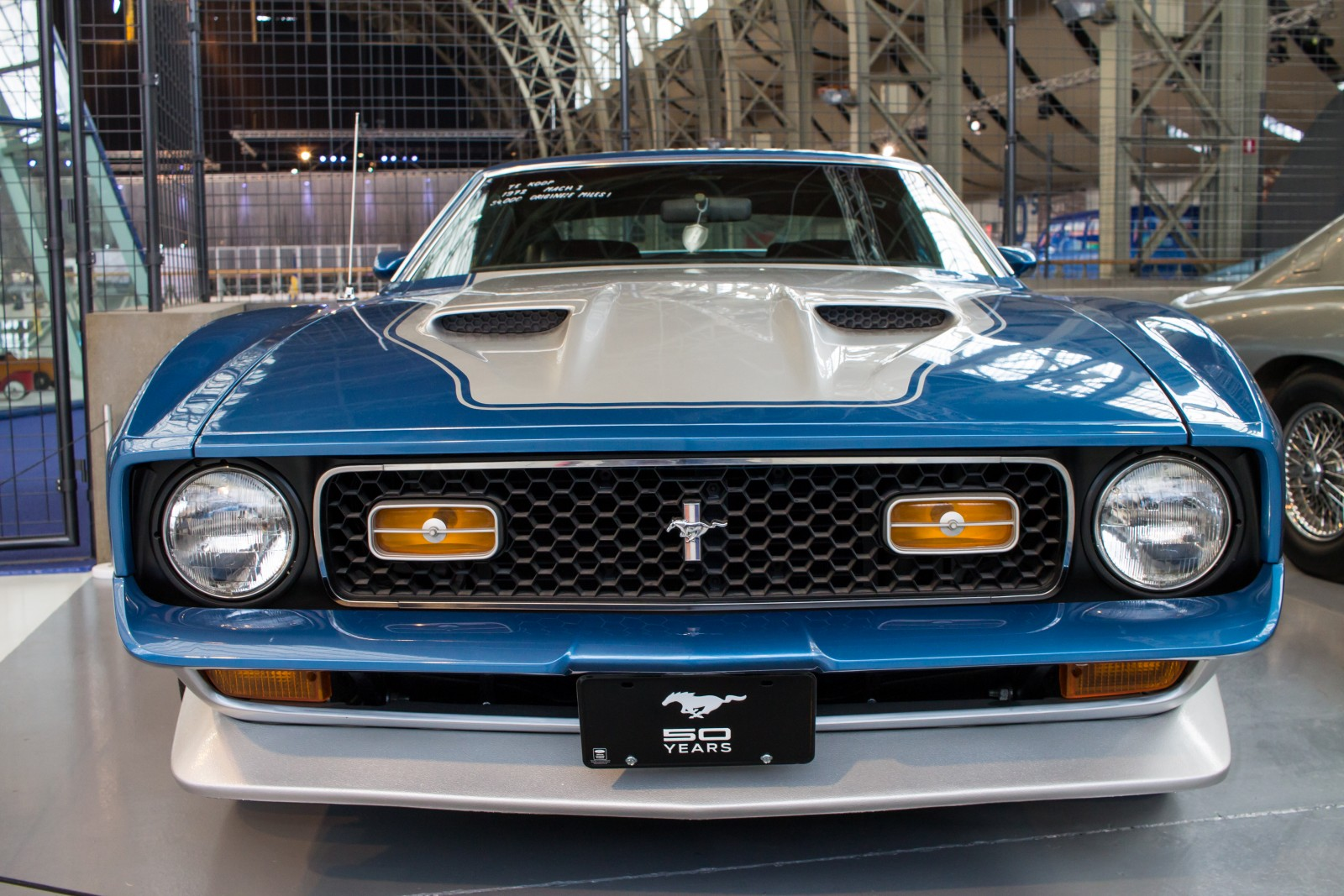 50 Years Mustang in the Autoworld Brussels