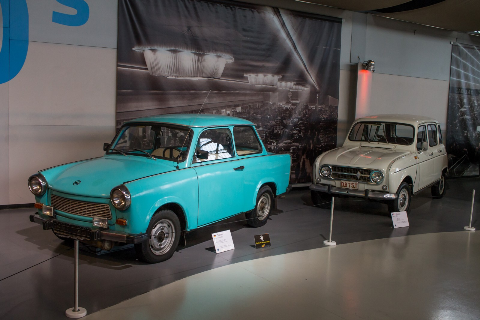 Trabant and Renault R4