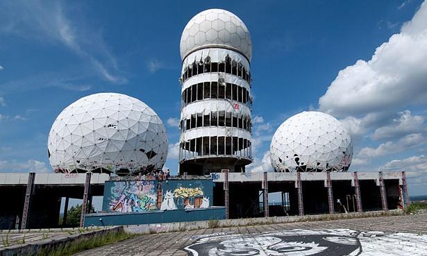 Teufelsberg listening station, Berlin, Germany