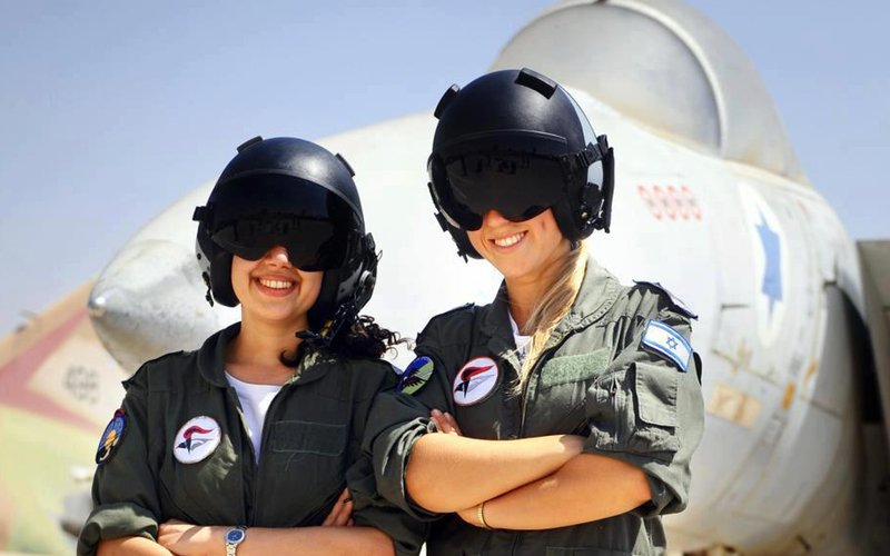 More Women fly F-16's in Israel than drive cars in Saudi Arabia.