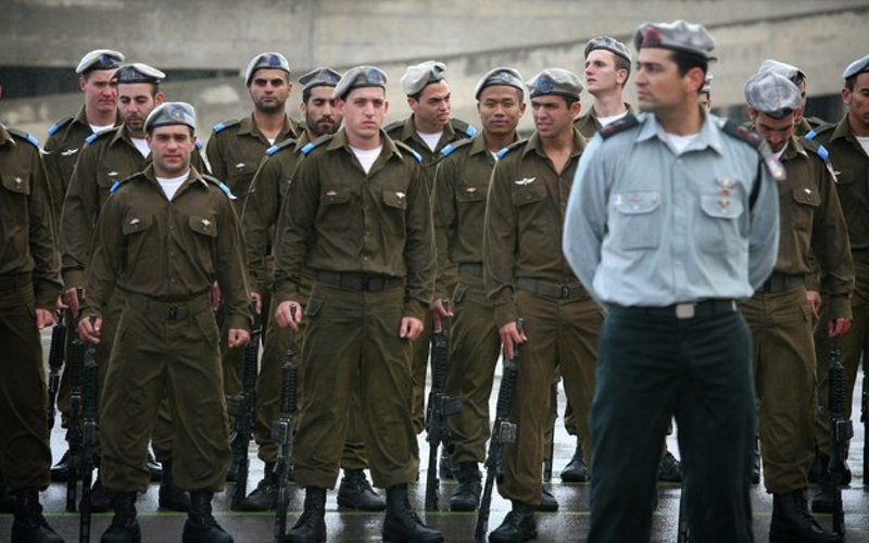 Israel is the only country where army reservists are commanded by officers younger than their own children.