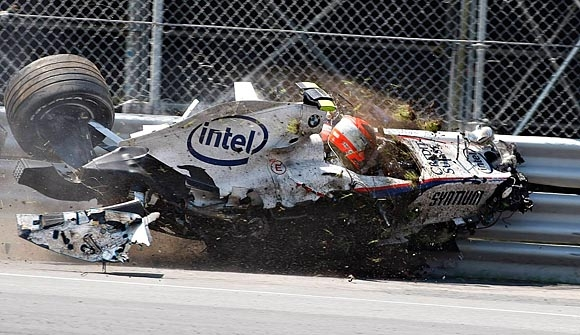 Accidents during the Formula 1