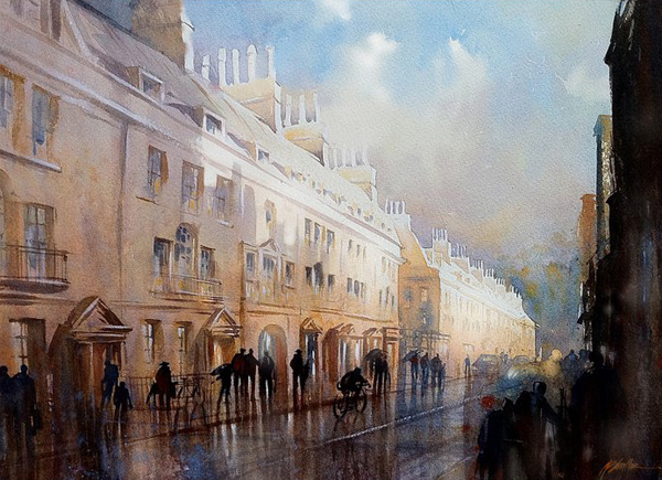 Amazing watercolor paintings by Thomas W. Schaller
