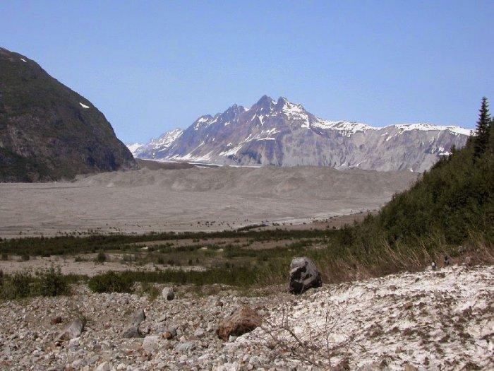 Carroll Glacier, Alaska.2004 year.