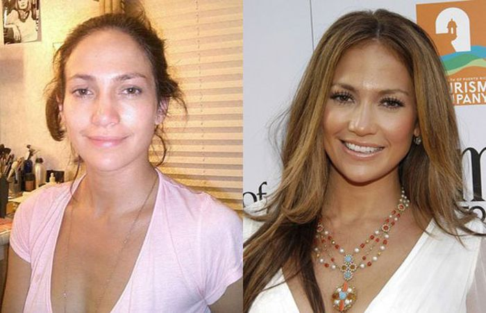 20 photos of the most popular celebrities without make-up