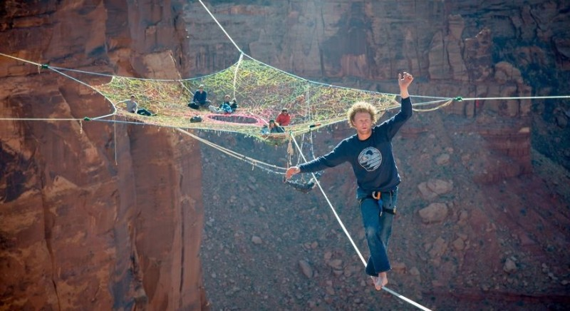 Crazy extremals at the height of 121 m