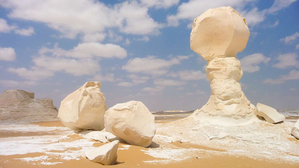 Geological formations of the Earth