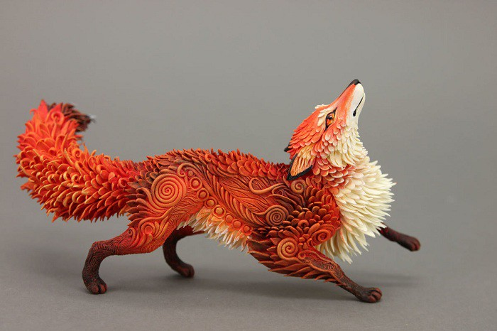 Incredible toys made of velvet plastic
