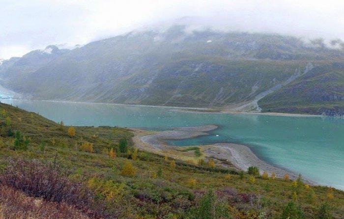 Reid Glacier, Alaska. 2003 year.
