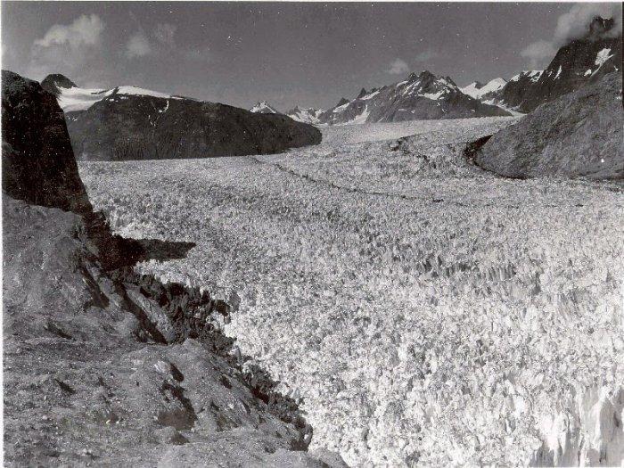 Riggs Glacier, Alaska, 1941.