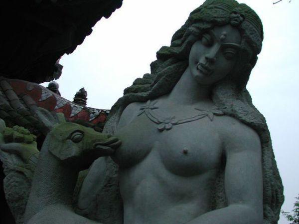 Strange monuments
