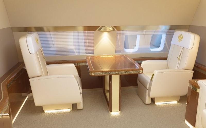 Flying Kremlin: seats