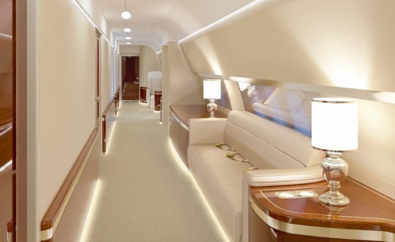 Flying Kremlin: Cabin