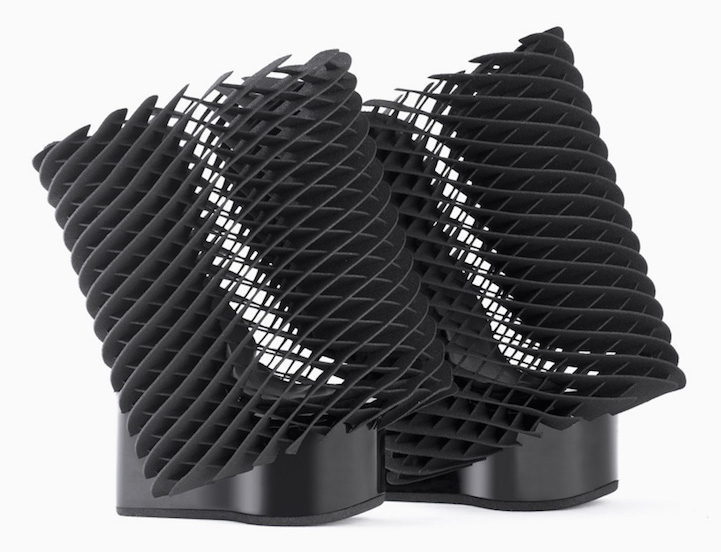 Beautiful collection of 3d-printed shoes
