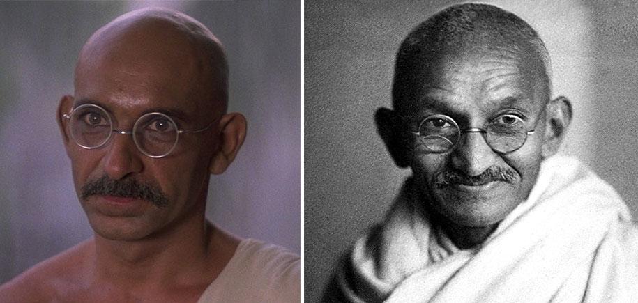 20 celebrities who look like historical people