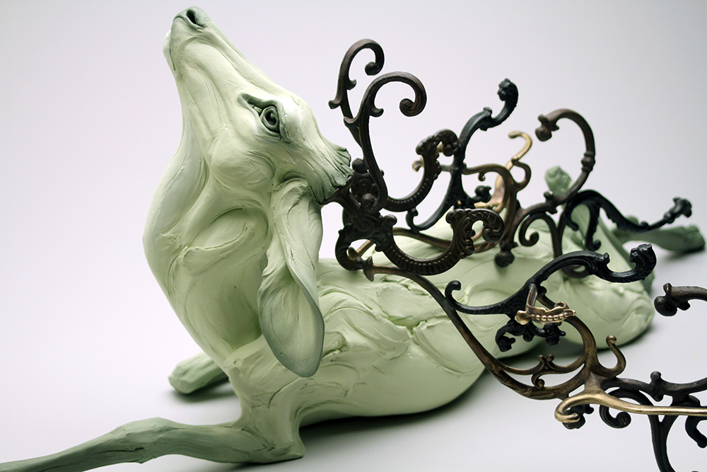 Ceramic Animals Sculptures by Beth Cavener Stichter