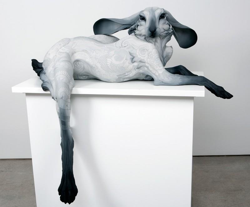 Ceramic Animals Sculptures by Beth Cavener Stichter