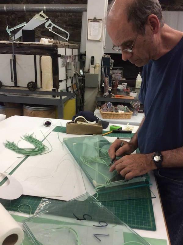Flowing Glass Sculptures