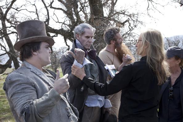 Jack Black Will Ferrell Jason Segel as the three ghosts1