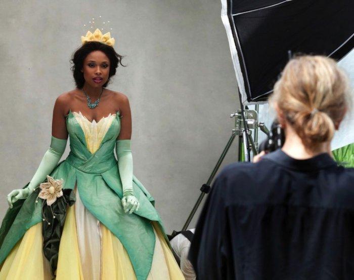 Jennifer Hudson - a princess Tiana