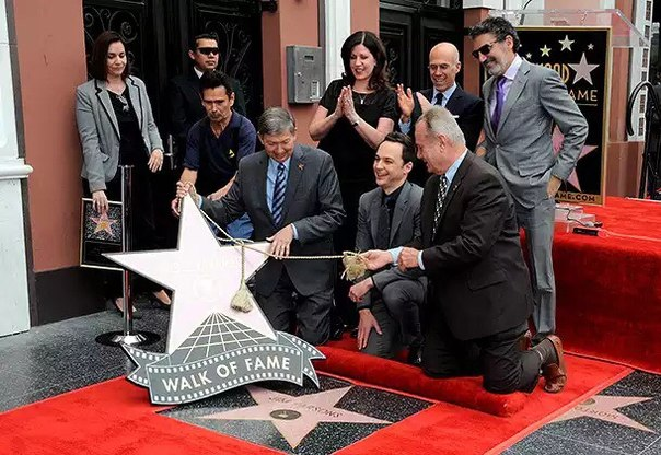 Jim Parsons gets a star