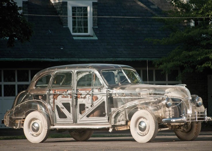 Pontiac Deluxe Six Plexiglas Ghost Car