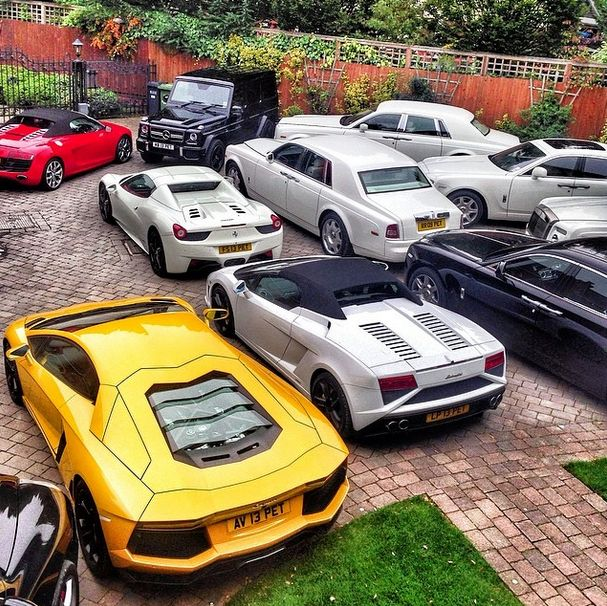 'Rich kid of Instagram' and his supercars