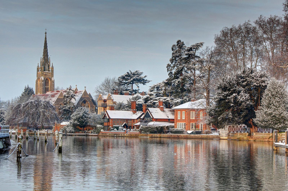 The most beautiful winter towns in the world